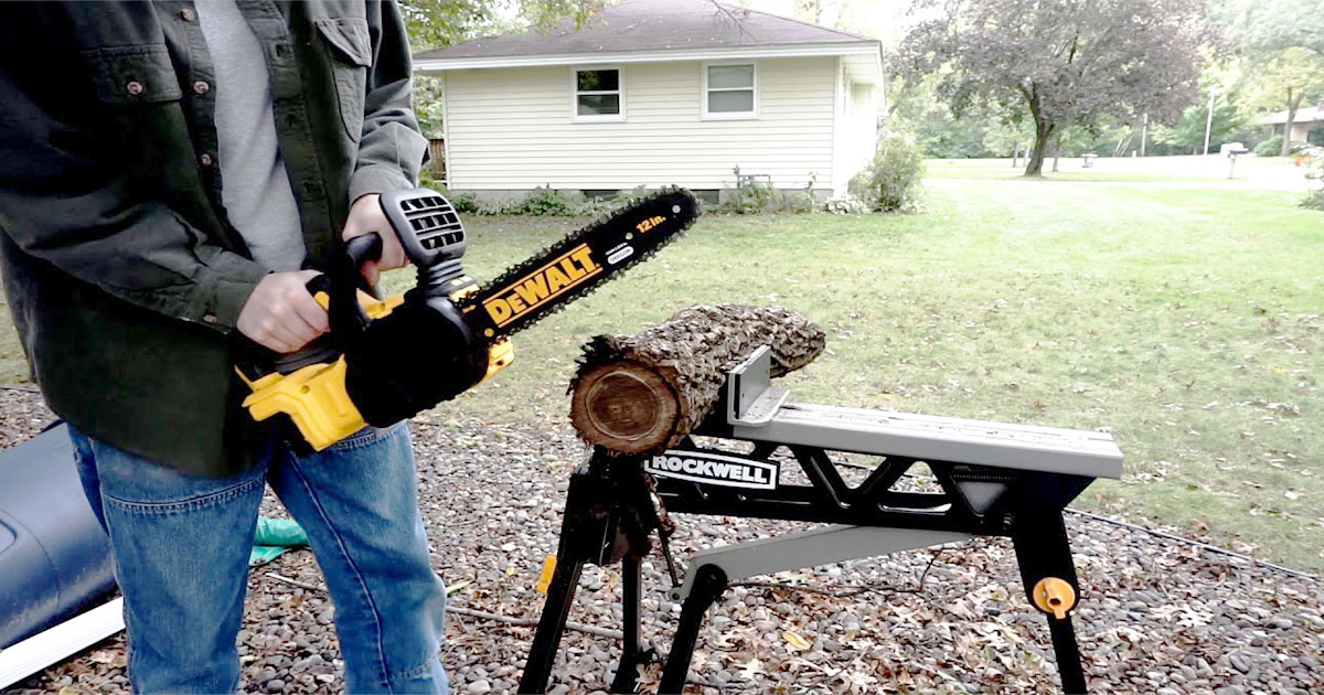 10 Best Chainsaws for Cutting Firewood - Review 2019 & Guide