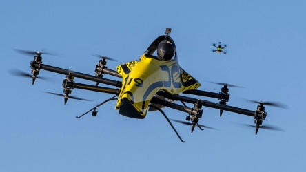 Drone Champions League tries its hands on the first-ever manned aerobatic drone