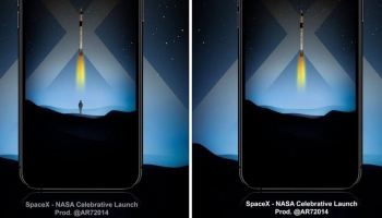 SpaceX – NASA Launch on 30th May Well Depicted in Graphic Designer AR7's Wallpapers