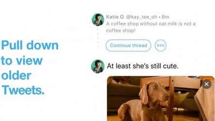 "Twitter helps users to establish linkage between old and new tweets with ""Continue thread"" feature"